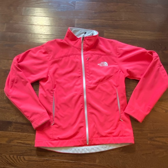 'The northface' full zip jacket coral
